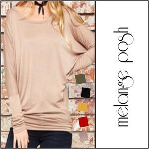 Dolman (Long) Sleeve Top
